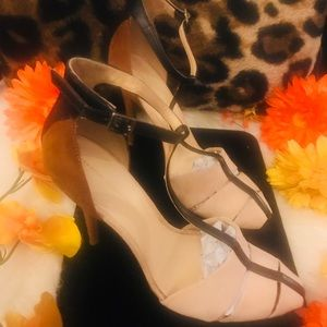 Zara Basics Suede Heels